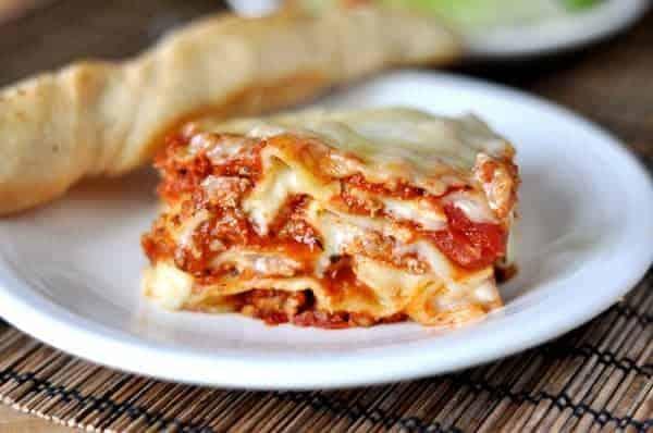 Classic Veg Italian Lasagna