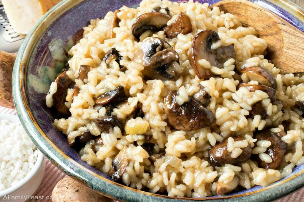 Veggie Mushroom Risotto