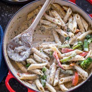 Authentic White Sauce Pasta