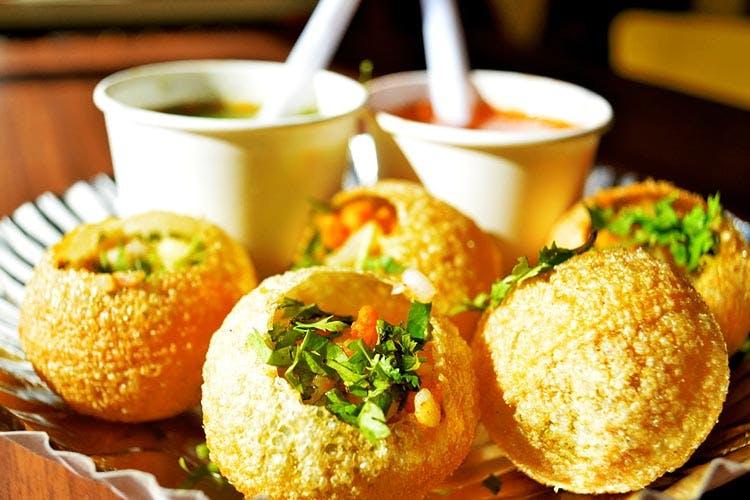 Fast Food Near me Delhi Special Gol Gappe