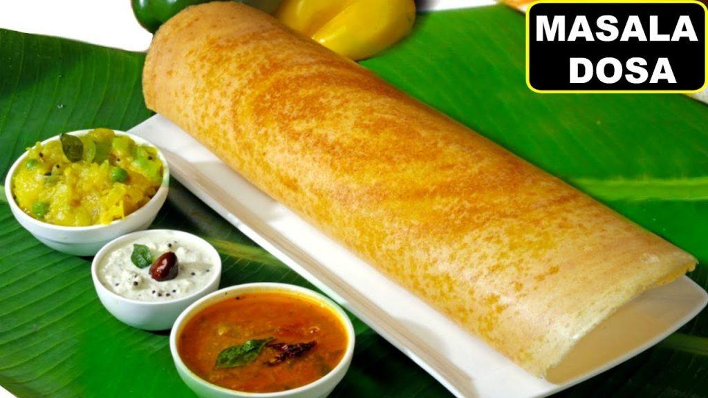 Masala Dosa at Royal Indian Cuisine
