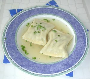 Maultaschensuppe Spicy German Dish
