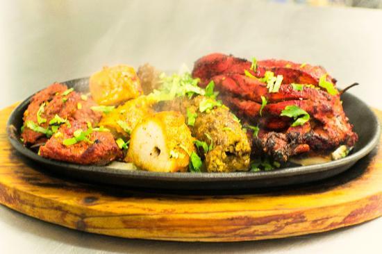 Tandoori Mixed Grill Dish