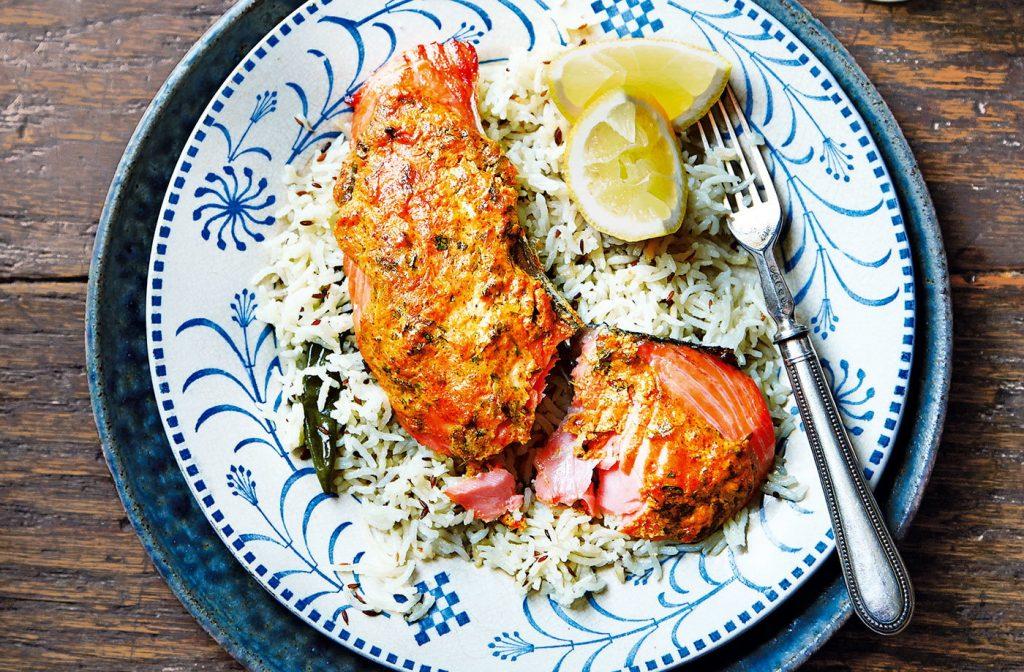 Tandoori Salmon at Royal Indian Cuisine